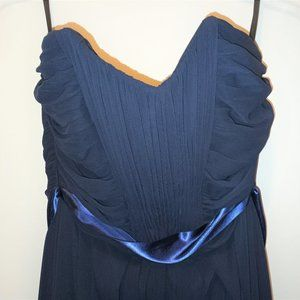Lovely navy blue gown by WTOO Watters